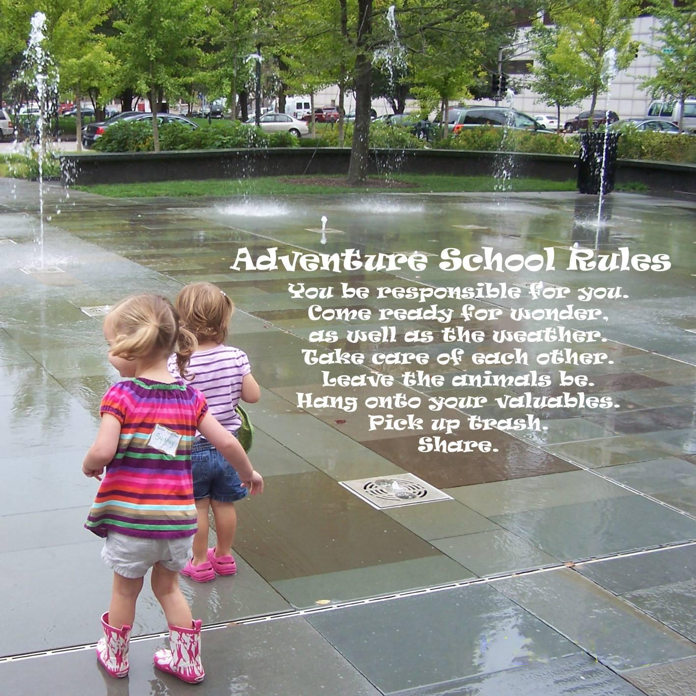 2016 Adventure School Rules