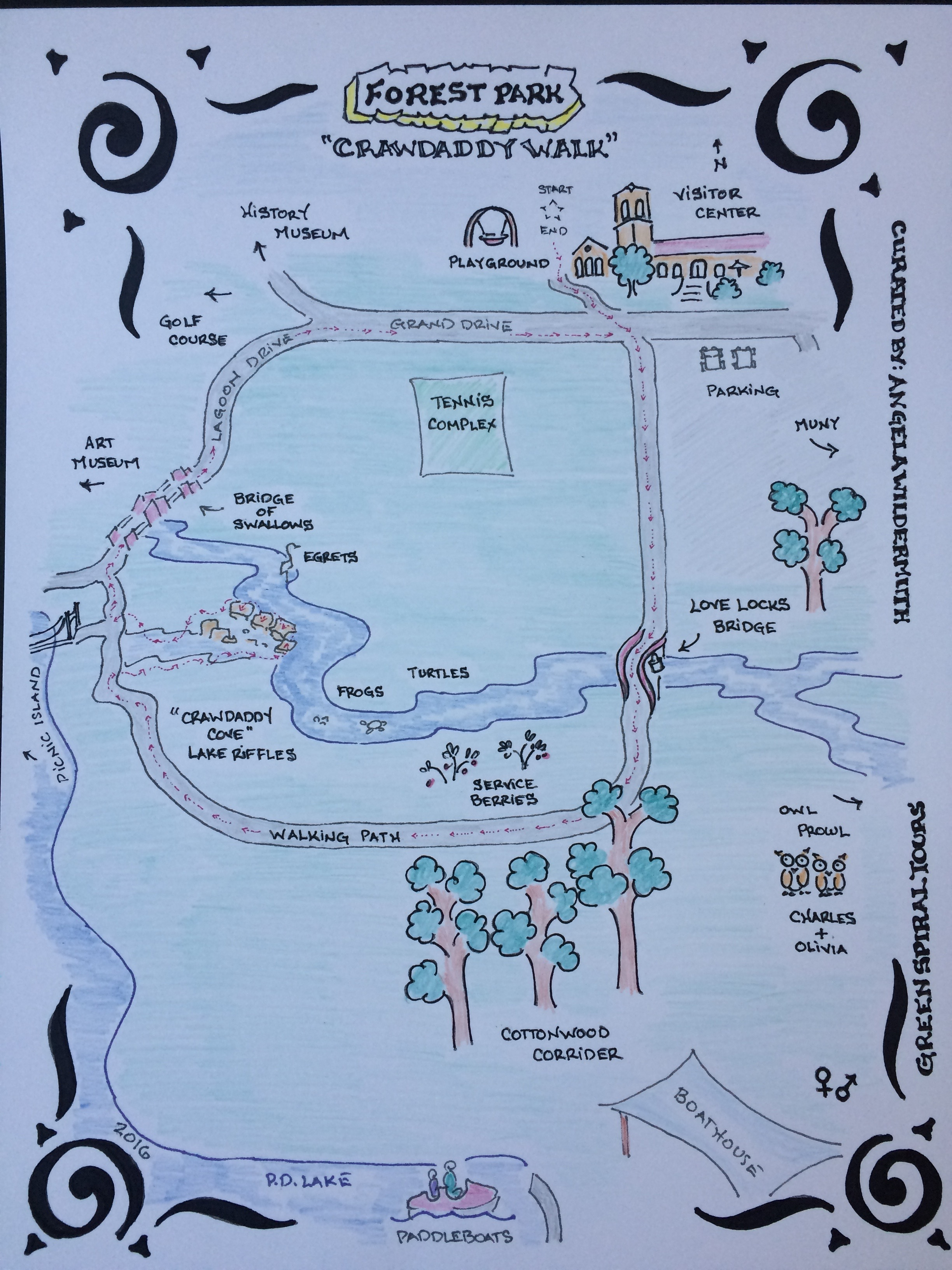 2016-06 Forest Park Map